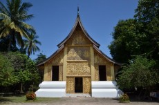 The royal reliquary shrine and museum in the grounds of Vat Xiang Thong monastery